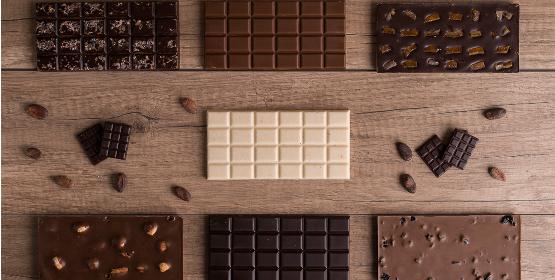 Les tablettes maison de la chocolaterie Colombet, à Pontgibaud, un savoir-faire artisanal