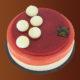 Entremet Fraisse et yuzu de la Chocolaterie Colombet
